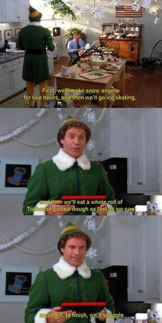 ELF IS THE BESTESTEST MOVIE EVERRR!!!!!! ( along with the hunger games and Star Wars, of course )