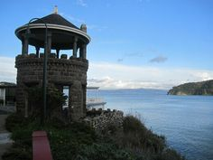 Lyford's Tower – Belvedere Tiburon, California - Atlas Obscura Tiburon California, Victorian Style Homes, National Landmarks, Marin County, San Francisco Bay, Go Outside, Nice View, Seattle Skyline, The Locals