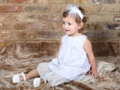 A stunning girl's christening outfit #girl's christening outfit #designer christening outfit #French christening outfit #christening dress #baptism dress