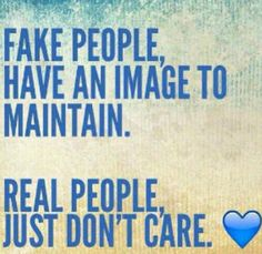 Hahaha... sadly I know a couple who are like this.. they are ; #fake & pretenders.
