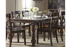 Gerlane Dining Room Table By Ashley HomeStore, Brown
