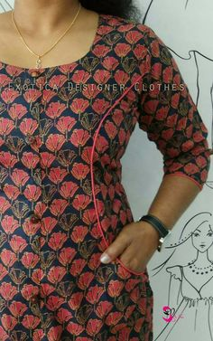 20 Types of beautiful kurtis Designs - ArtsyCraftsyDad Salwar Neck Designs, Churidar Designs, Kurta Neck Design, Kurta Designs Women, Dress Neck Designs, Blouse Designs, Neck Design For Kurtis, Latest Kurti Designs, Kurtha Designs