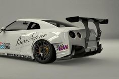 Bensopra Rear GT Wing | Nissan R35 GTR | Tuning Boost