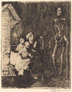 ALBERT BESNARD Which One? (Lequel?), 1900