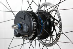 Di2 Hub 1 with center track sprocket by Gates Carbon Drive