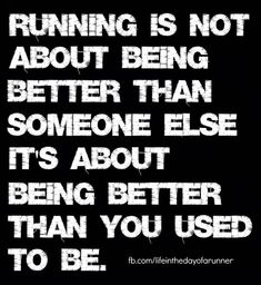 Truth about running...