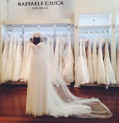 """Maggie Sottero """"Patience"""" new to Raffaele Ciuca Bridal"""