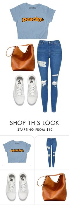 """a day downtown"" by joannachavez8 on Polyvore featuring Topshop and Vans"