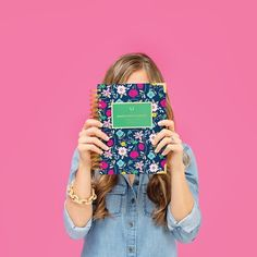 We're most excited to reveal our newest Daily #SimplifiedPlanner cover! Meet the newest addition to our signature lineup, the FANCY FLORAL Simplified Planner! She's fancy, but not formal. #FancyFloralSP! // EmilyLey.com