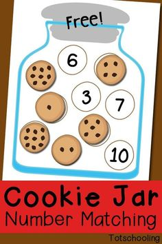 How To Circumvent IP Possession Concerns Every Time A Strategic Alliance, Three Way Partnership Or Collaboration Fails Cookie Jar Number Matching Free Printable. This Cookie Jar Number Matching Activity Includes Numbers And Comes In Two Levels Of Diff Preschool Activities, Preschool Number Activities, Preschool Kindergarten, Toddler Preschool, Preschool Printables, Subitizing Activities, Number Games For Preschoolers, Free Preschool, Learning Numbers Preschool