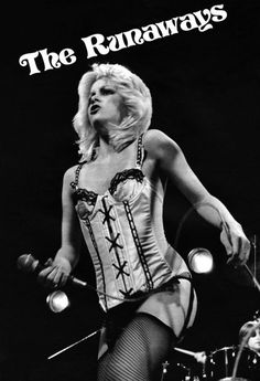 Cherrie Currie of The Runaways - SOOOOO Good