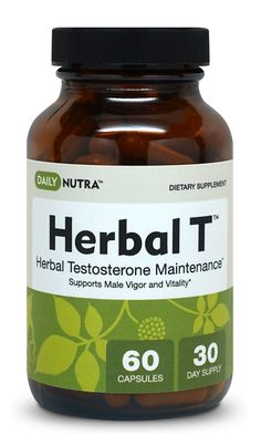 "Herbal-T "" Natural and Effective Solution for Low Testosterone in Men"" #herbalt"