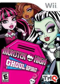 Monster High: Ghoul Spirit Your #1 Source for Video Games, Consoles & Accessories! Multicitygames.com