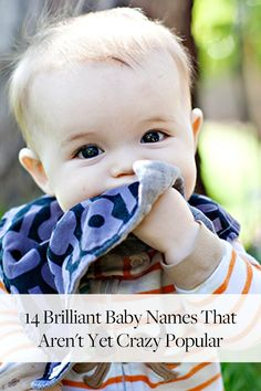 14+Brilliant+Alternatives+to+Today's+Most+Popular+Baby+Names+via+@PureWow via @PureWow