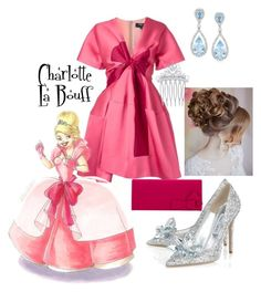 """Charlotte La Bouff"" by pandamestas on Polyvore featuring Paule Ka, Jimmy Choo, Jacques Vert and Ross-Simons"