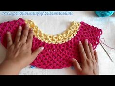 Tutorial de crochet / Blusa tejida a crochet paso a paso Parte #3 - YouTube