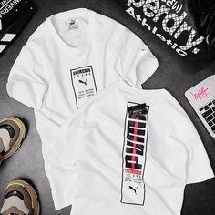 Adidas Fashion, Mens Fashion, Fashion Outfits, Levis T Shirt, Tee Shirts, Logo Puma, Types Of Suits, Tee Shirt Designs, Cotton Style