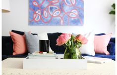 Inside the Boston Rental of Erin Gates, blogger behind Elements of Style and Owner of Erin Gates Design