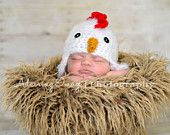 Fuzzy Chick Chicken Hat.  aww!!!! #country