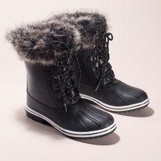 Cushion Walk® Elsa Faux-Fur Boot #cushionwalk #boots