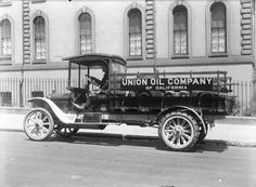 White Truck Union Oil of California