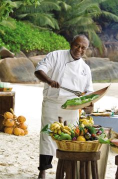 Fresh fish, an ocena breeze and smiles - your beach BBQ at Four Seasons Resort Seychelles