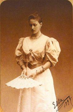 Grand Duchess Elizaveta Feodorovna of Russia, 1893.