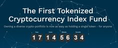 The First Tokenized Cryptocurrency Index Fund Owning a diverse crypto-portfolio is now as easy as holding a single token - for anyone