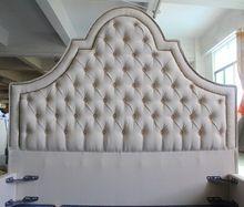 Cabeza alta lino tablero de cama de tejido de west estilo europeo para el hogar y muebles del hotel(China (Mainland))