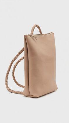 Ara Backpack No. 1 in Nude | The Dreslyn