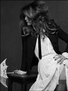 "Vanessa Paradis for Chanel's ""The Little Black Jacket"" by Karl Lagerfeld & Carine Roitfeld for Chanel"