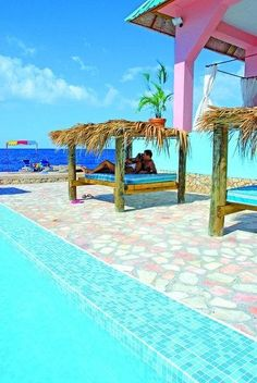 Samsara Resort, Negril, Jamaica lots of good reggae shows here!