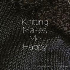 infiKNITi | #Knitting makes me #Happy