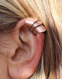 Armor Ear Cuff Armor Jewelry Medieval by MountainUrsusDesigns