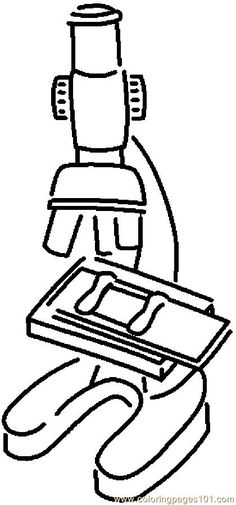 Microscope 8 Coloring Pages School Coloring Pages Coloring Pages For Boys