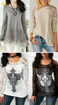 Modest tops for women, more than 300 products at rosewe.com, free shipping worldwide, check them out.