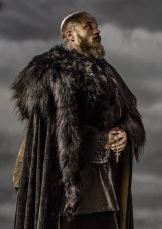 Vikings, great tv, warrior, beard, powerful face, intense, hands, clouds, stormcloud, strong image, portrait