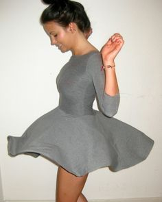 b6d55ba0a I Love the seamlessness of this look. Circle Dress