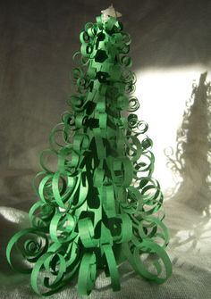 Curly-Paper-Christmas-Tree