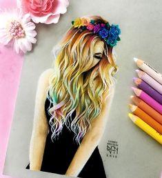 drawing simple hairstyles inspiringdrawing draw drawings
