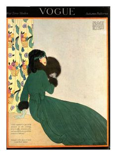 §§§ : Vogue Cover : October 1918  by Helen Dryden