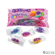 The hunt is on for delicious Easter candy! These marshmallow delights fit perfectly into Easter eggs and make the sweet search easy to prepare for. In fun . Easter Hunt, Easter Eggs, Marshmallow Easter Egg, Candy Buffet Supplies, Taffy Candy, Nostalgic Candy, Candy Companies, Chewy Candy, Fun Express