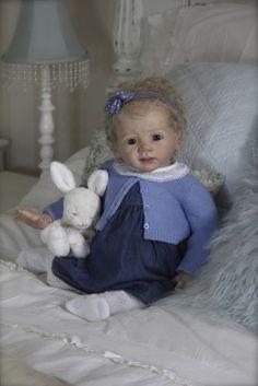 Cheza Baby Reborn baby girl PROTOTYPE FRIEDA KAROLA WEGERICH IIORA | eBay
