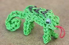 Lizard - 15 amazing loom band ideas