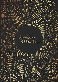 December poster on Behance