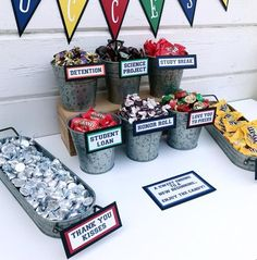 Graduation Candy Signs, set of 9 - Candy Bar Sign - Candy Sign - Graduation Part. Graduation Candy Signs, set of 9 – Candy Bar Sign – Candy Sign – Graduation Party – Graduat Graduation Party Desserts, Outdoor Graduation Parties, Graduation Party Centerpieces, Graduation Party Planning, College Graduation Parties, Graduation Food, Graduation Table Ideas, Grad Party Favors, Candy Favors