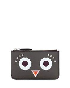 FENDI Studded Leather Key Case. #fendi #bags #leather #