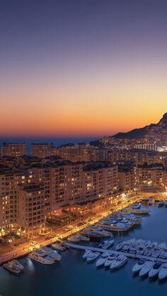 1440x2560 Wallpaper, Cityscape Wallpaper, Sunset Wallpaper, Monaco, Places To Travel, Places To Visit, South Beach Hotels, Summer Scenes, Images Esthétiques