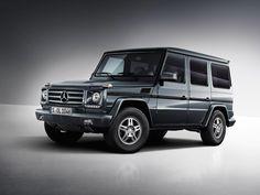 The Mercedes-Benz G-Class.  European model shown.  For more information, visit: http://mbenz.us/LBgDc9