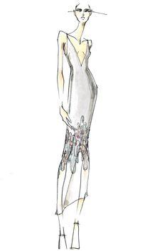 Carly Cushnie and Michelle Ochs Sketch